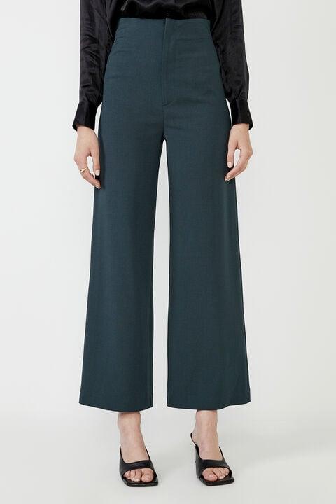 ANNA HIGH WAIST PANT in colour EDEN