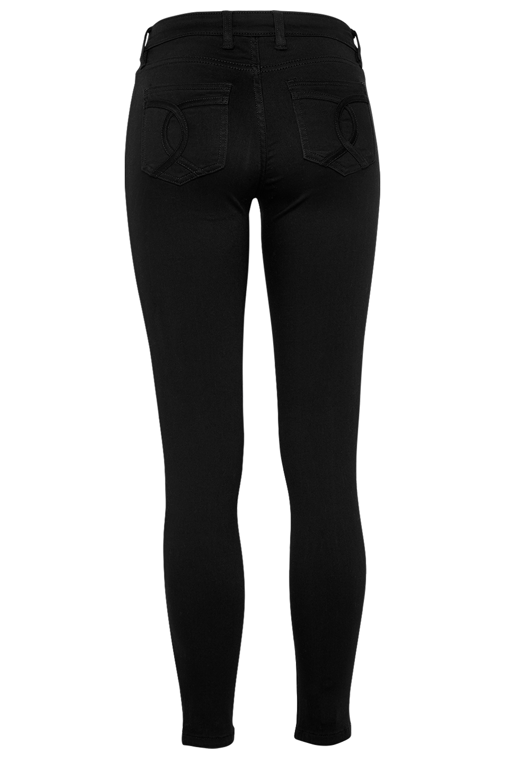 KATE HIPSTER JEAN in colour JET BLACK