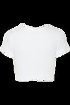 BRIE CROP TOP in colour BRIGHT WHITE