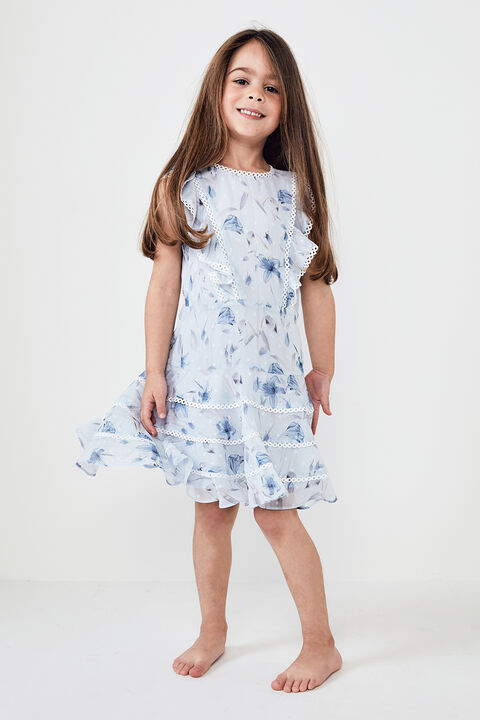 JUNIOR GIRL SADIE TRIM DRESS