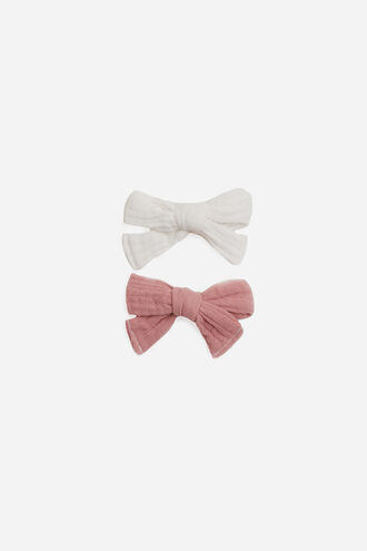 BASIC BOW SET in colour BRIGHT WHITE