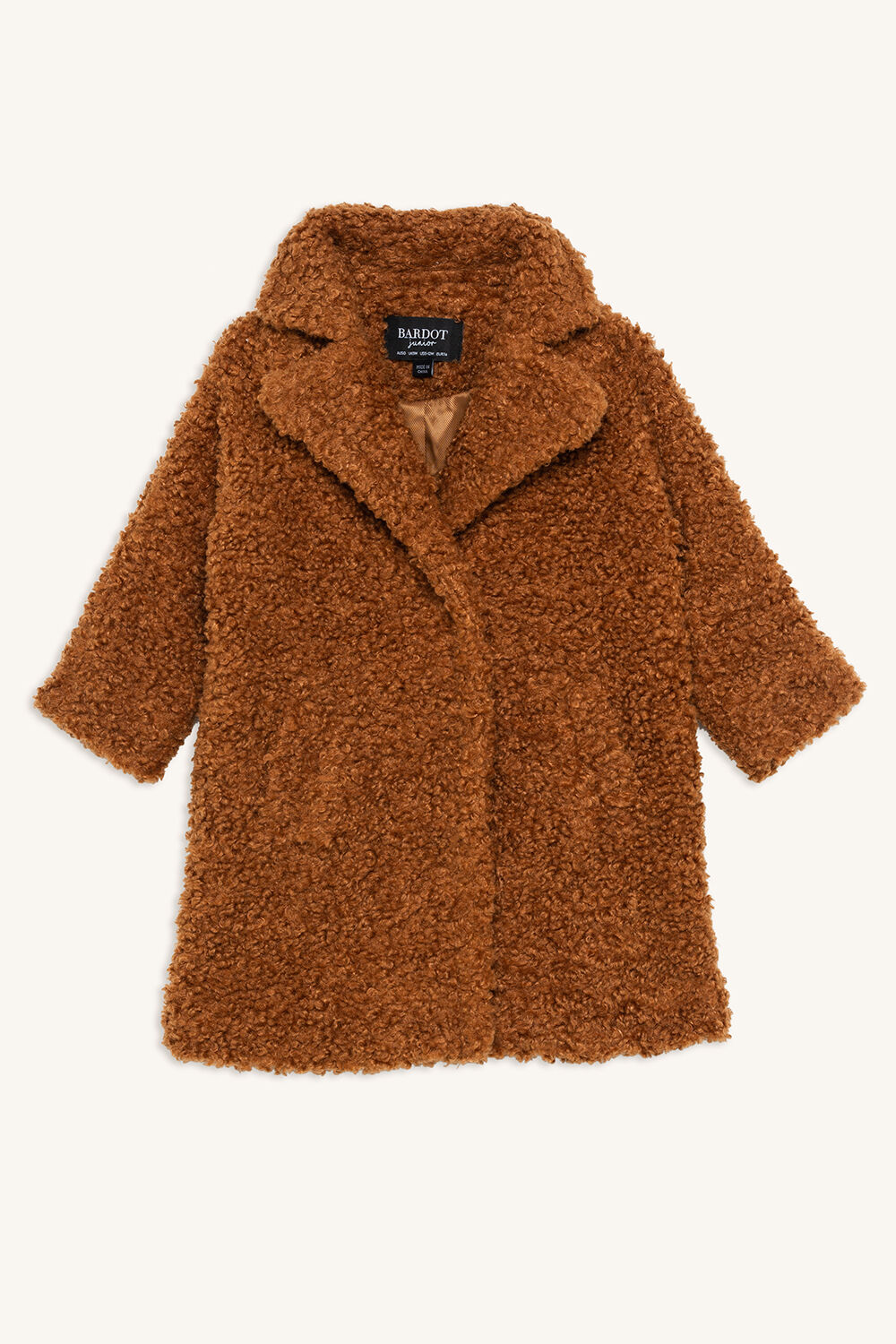 IZZY LONG COAT in colour WOODSMOKE