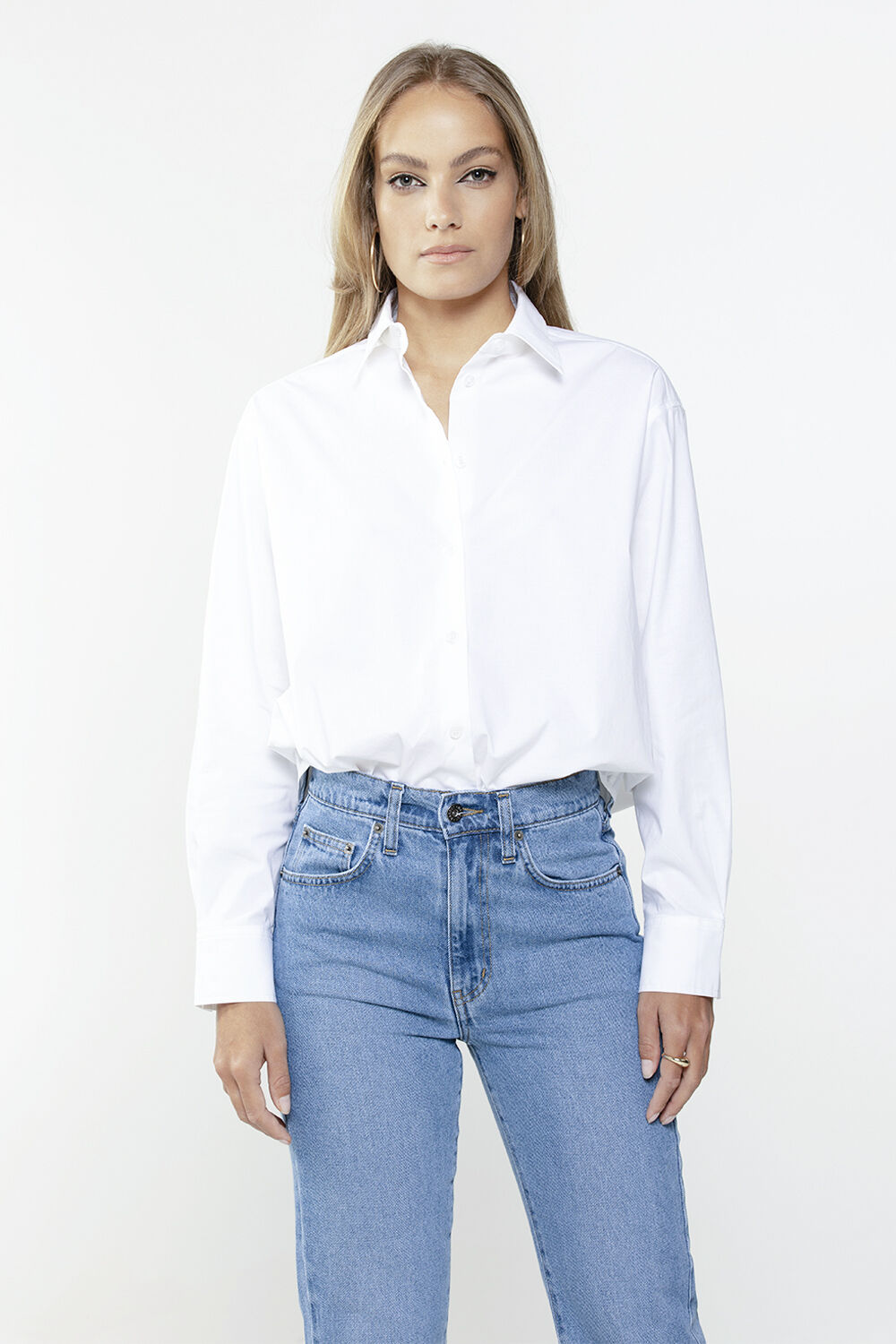 THE CLASSIC SHIRT in colour BRIGHT WHITE