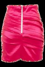 DARLA WRAP MINI in colour SHOCKING PINK