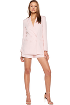 VENICE BLAZER in colour BLUSHING BRIDE