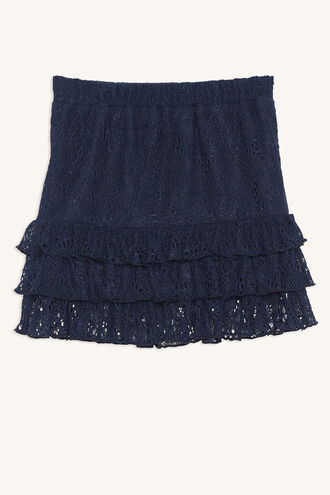 POSY RA-RA SKIRT in colour MARITIME BLUE