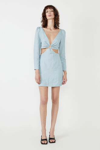 THE MINI CUT OUT DR in colour TANAGER TURQUOISE