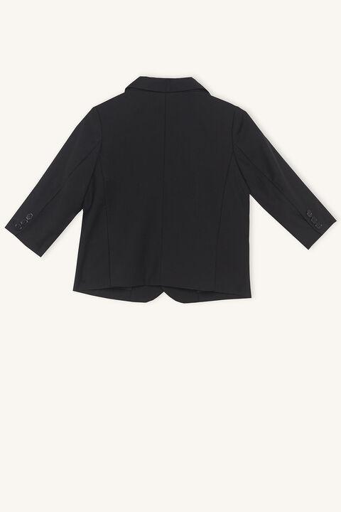 baby boy oscar suit jacket in colour JET BLACK