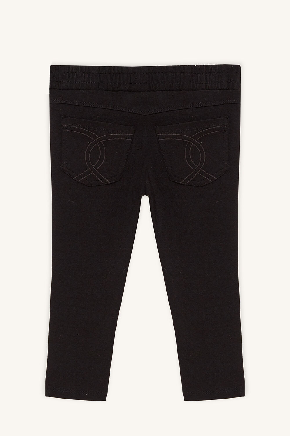 PIERA PULL ON PANT in colour JET BLACK