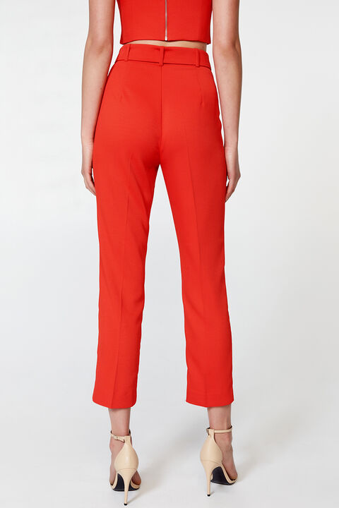 THERESE BUCKLE PANT in colour FIESTA