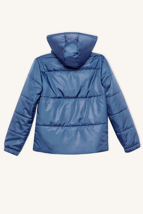 DAWSON PUFFER JACKET in colour ENSIGN BLUE