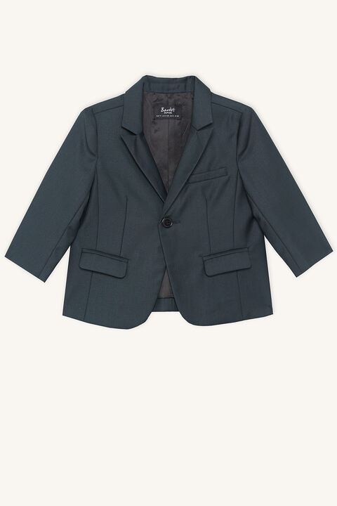 baby boy classic suit jacket in colour SYCAMORE