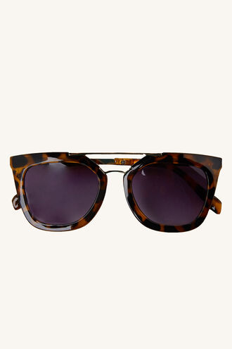 EMMA AVIATOR SUNGLASSES in colour SAND