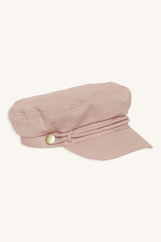CAPTAINS CAP in colour PINK CARNATION