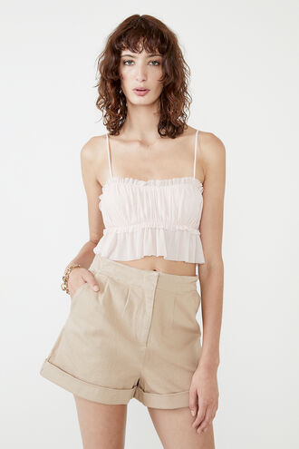 DREAMY TOP in colour PEACH WHIP