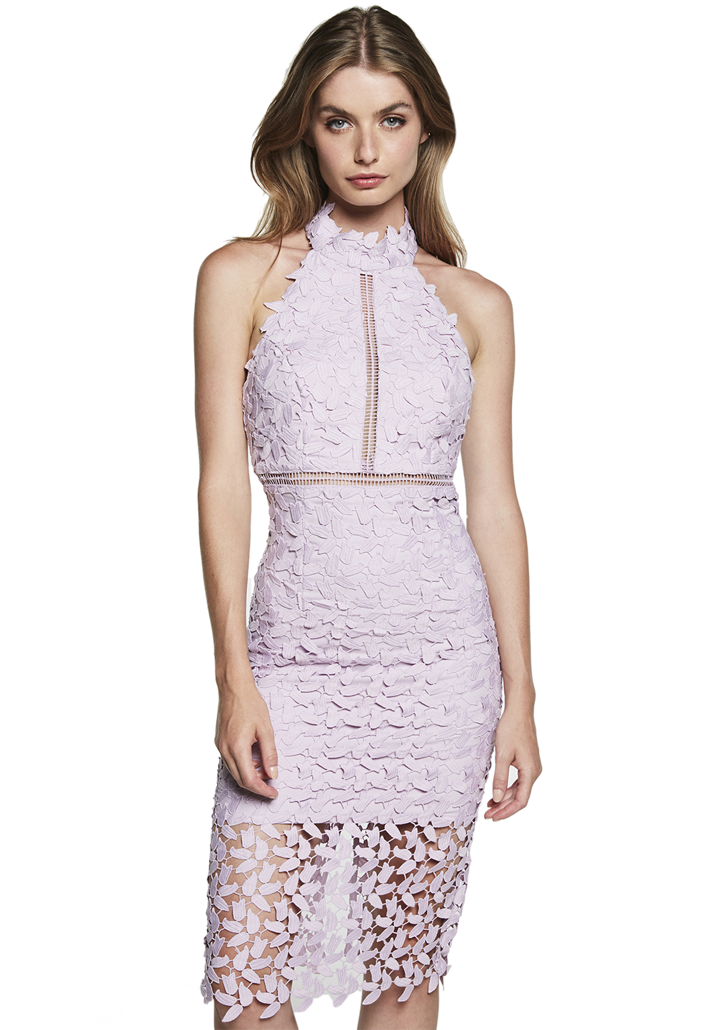 GEMMA DRESS in colour ORCHID BLOOM