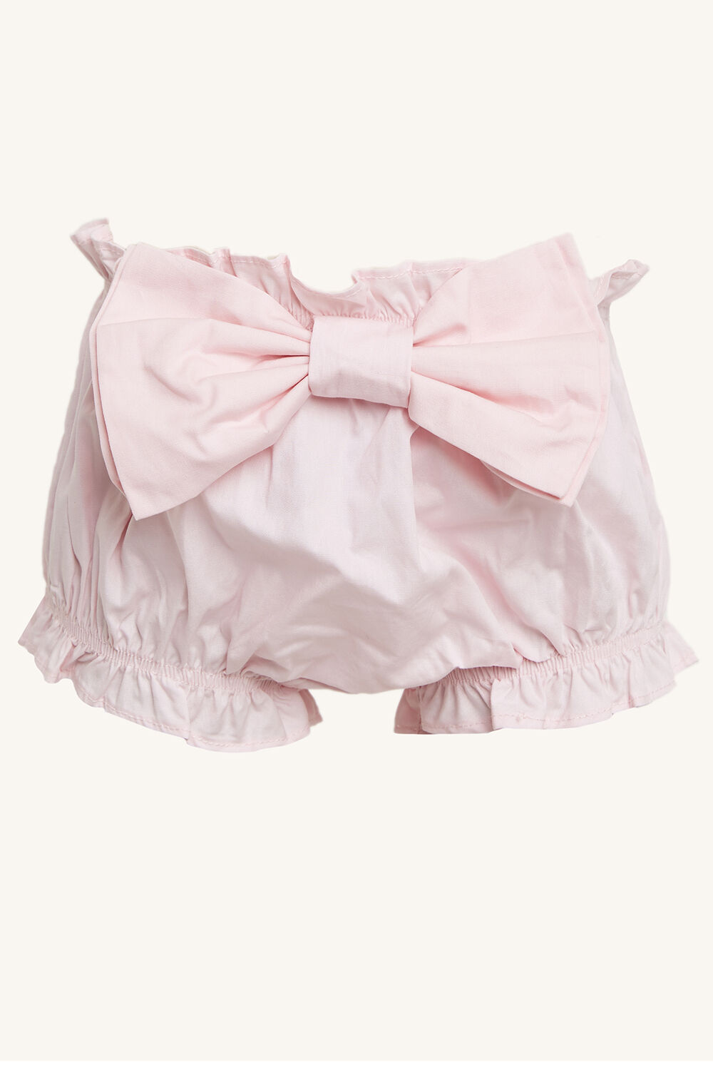 GERTIE BOW BLOOMER in colour PRIMROSE PINK