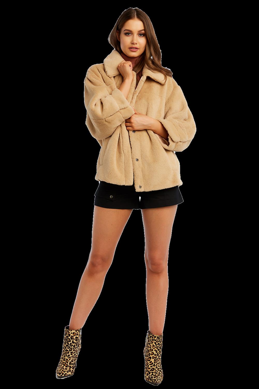 e6c87d77d Pia Faux Fur Bomber | Ladies Clothing & Jackets & Coats | Bardot