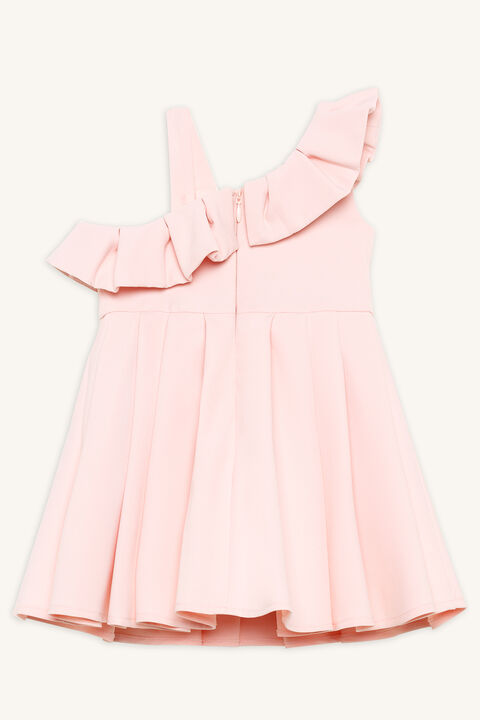 PARISIAN DRESS in colour HEAVENLY PINK
