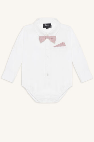 DAPPPER SHIRT GROW in colour BRIGHT WHITE