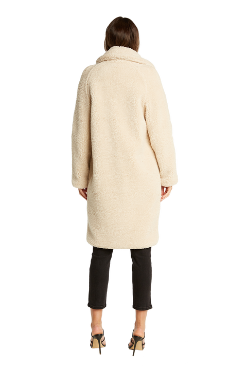 LONG COAT in colour WHISPER WHITE
