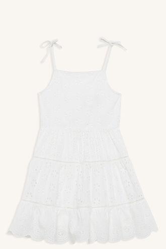 LULU DRESS in colour BRIGHT WHITE