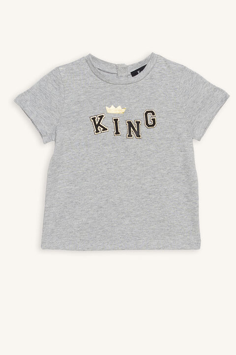 KING TEE in colour VAPOR BLUE