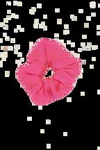 NEON SCRUNCHIE in colour BEETROOT PURPLE