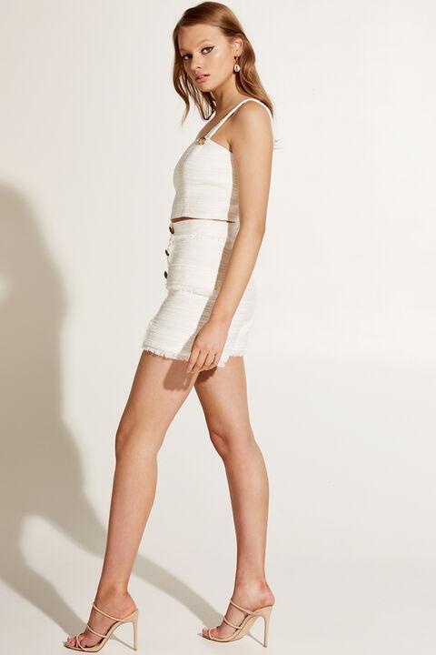 OLIVIA BUSTIER in colour BRIGHT WHITE