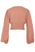 CHARO TOP in colour CORAL REEF