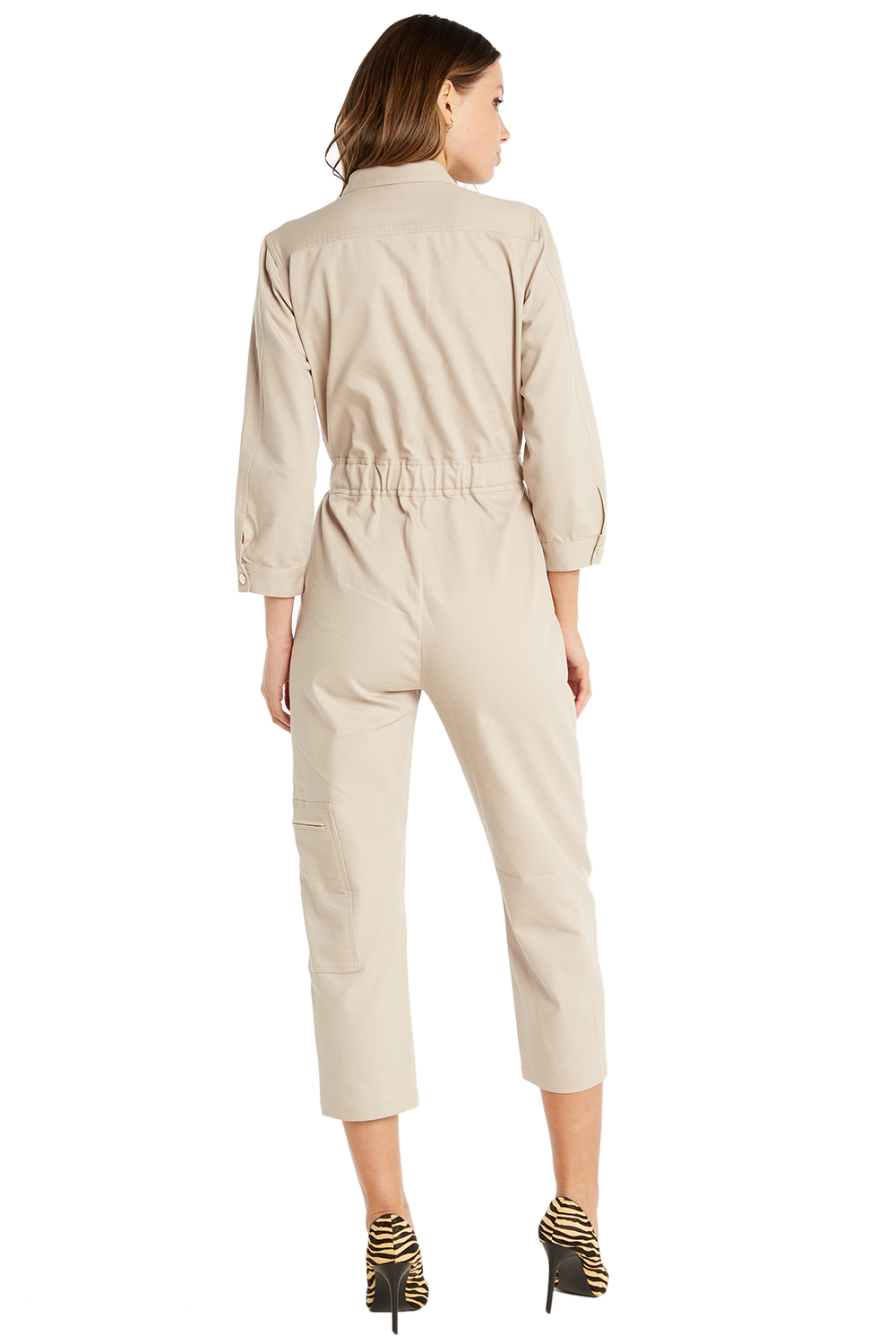 BOILER JUMPSUIT in colour MOONLIGHT