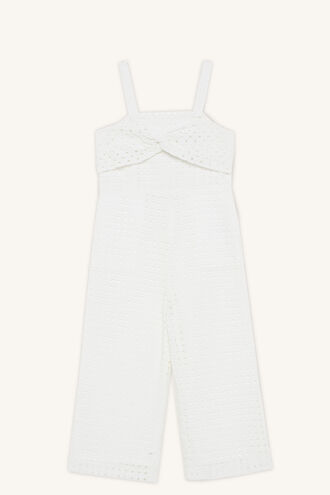 ALICE JUMPSUIT in colour CLOUD DANCER