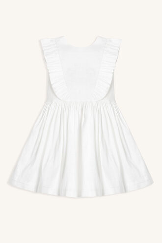 MOON BOW DRESS in colour SNOW WHITE