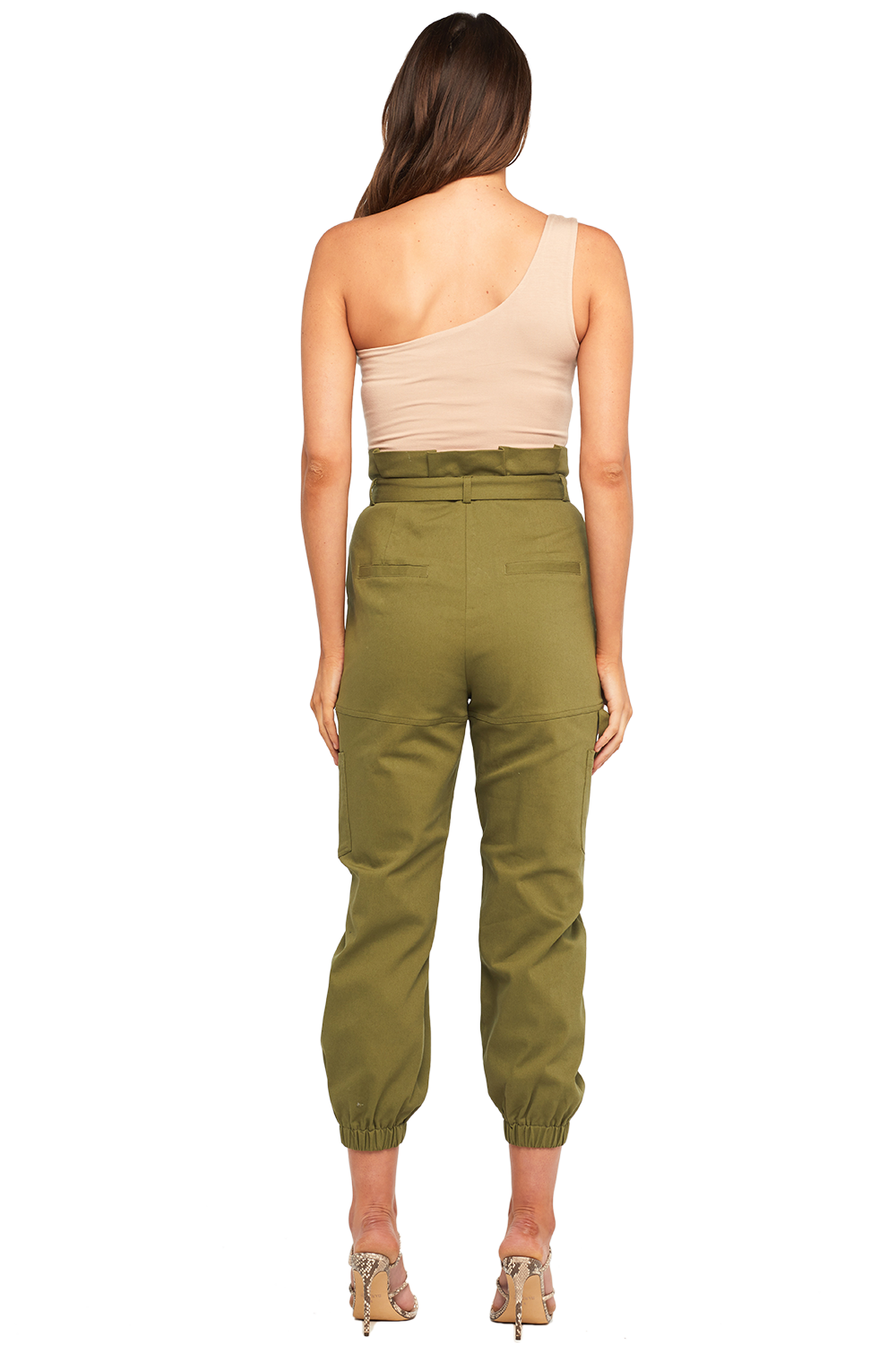 SAFARI PANT in colour DUSKY GREEN