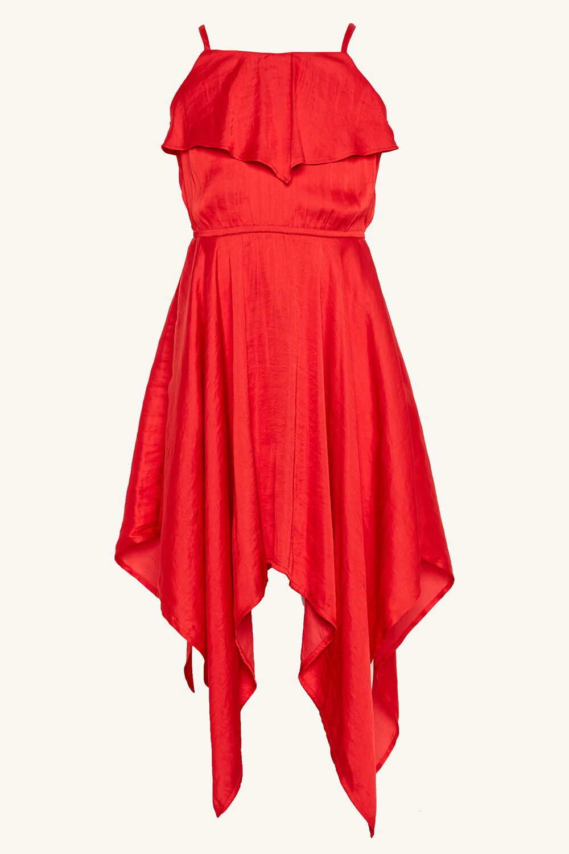 MILA HANKY DRESS in colour LOLLIPOP
