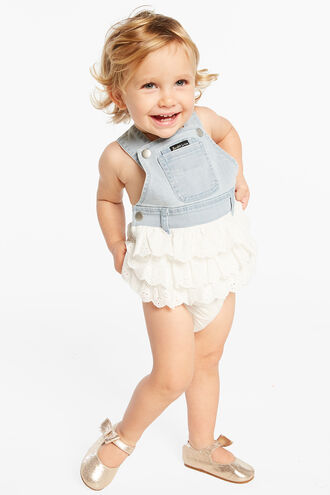 LACE OVERALL GRO in colour DRESS BLUES