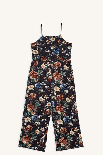 RAE CULOTTE JUMPSUIT in colour STRETCH LIMO