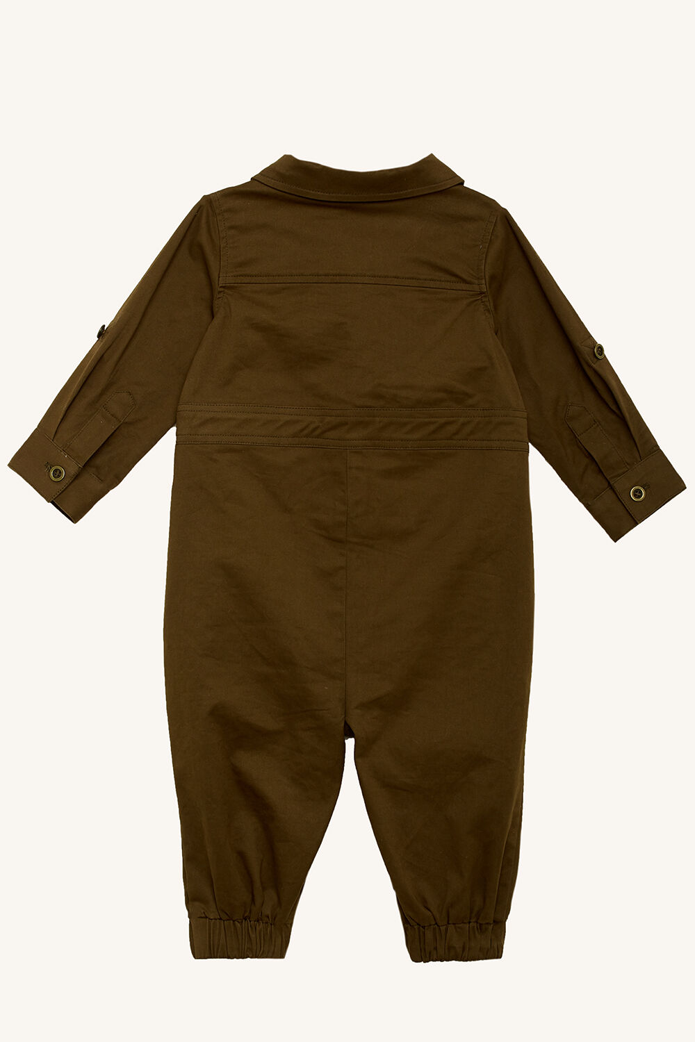 UTILITY BOILER JUMPSUIT in colour COVERT GREEN
