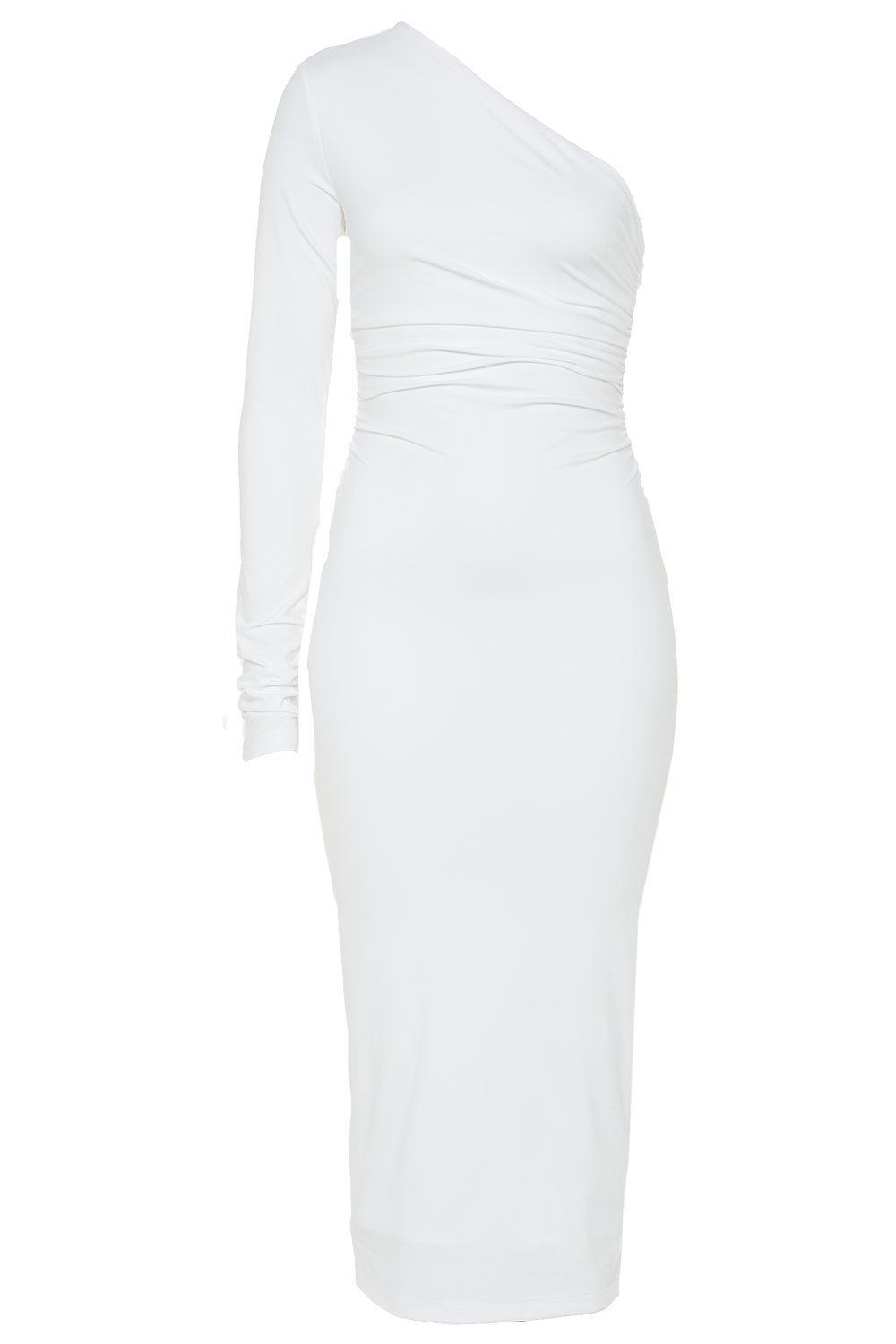MIA DRESS in colour BRIGHT WHITE