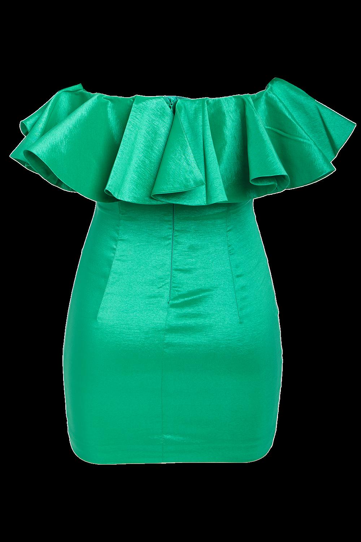 LULU MINI DRESS in colour BOSPHORUS