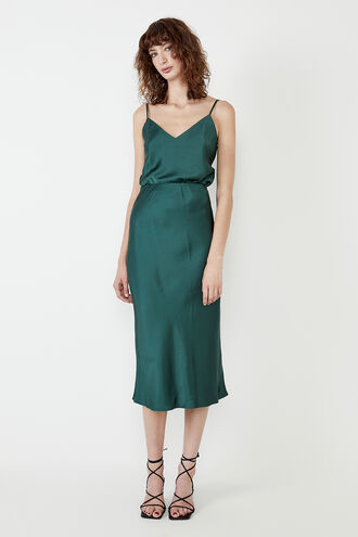 MILANO SKIRT in colour GREEN GABLES