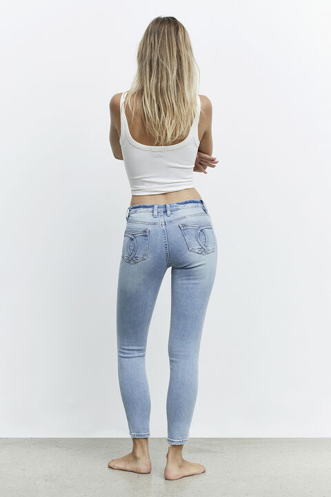 KATE MID BLUE JEAN in colour NIGHTSHADOW BLUE