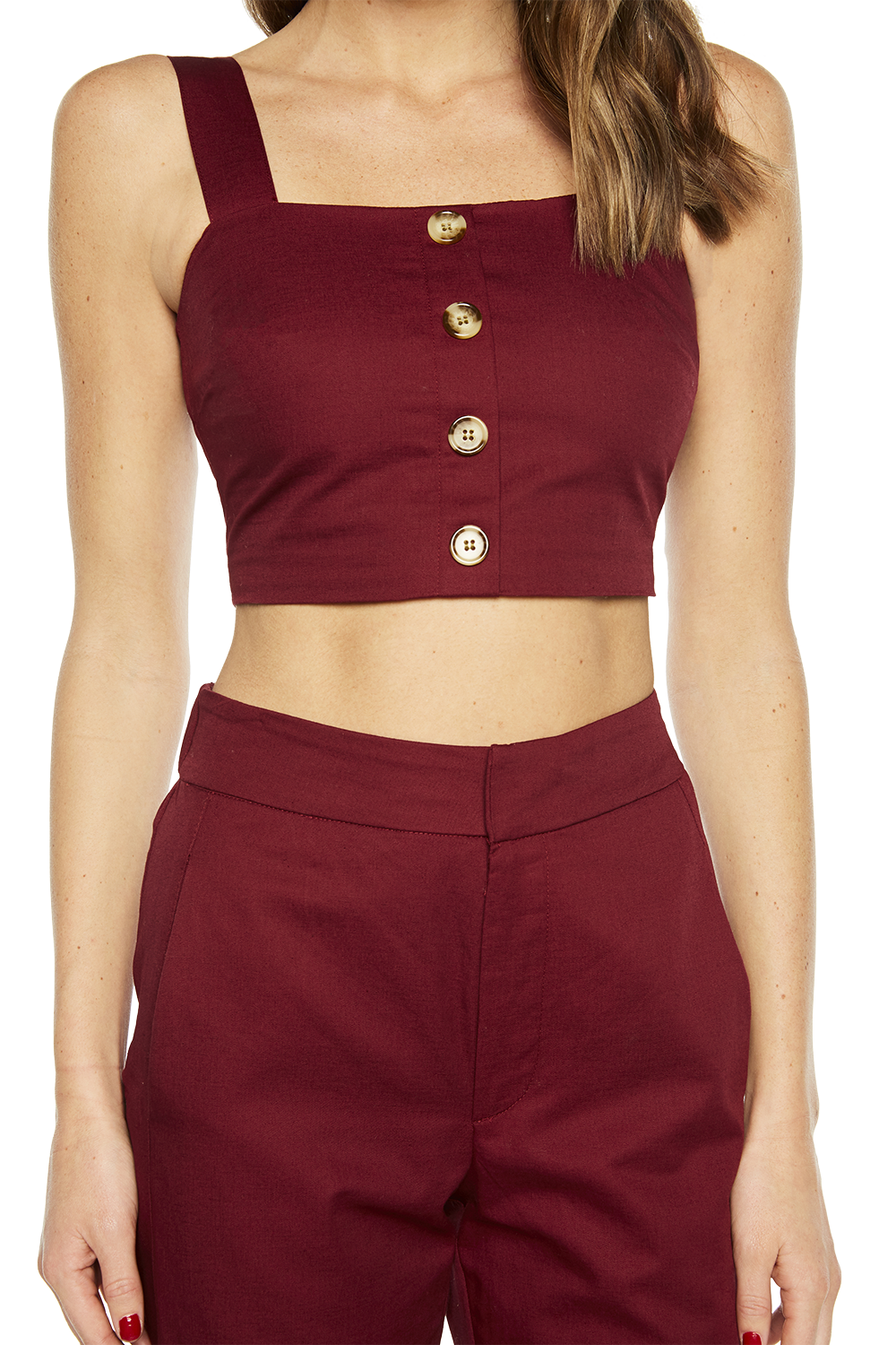 BUTTONED TOP in colour WINETASTING