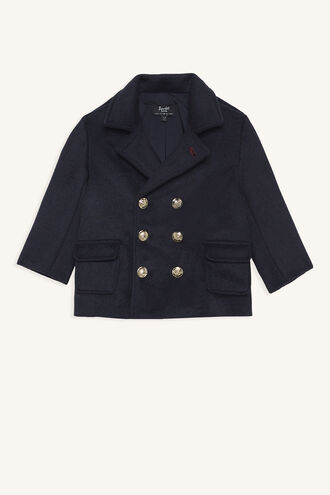 JUDE PEA COAT in colour MARITIME BLUE