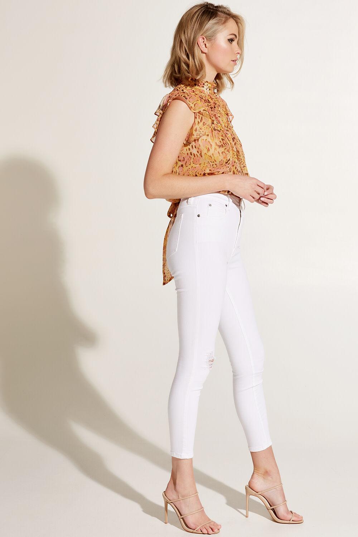 BRIANA TOP in colour WINTER WHITE