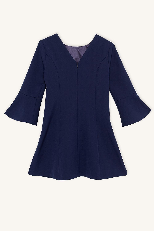 JUNE PANEL DRESS in colour BLACK IRIS