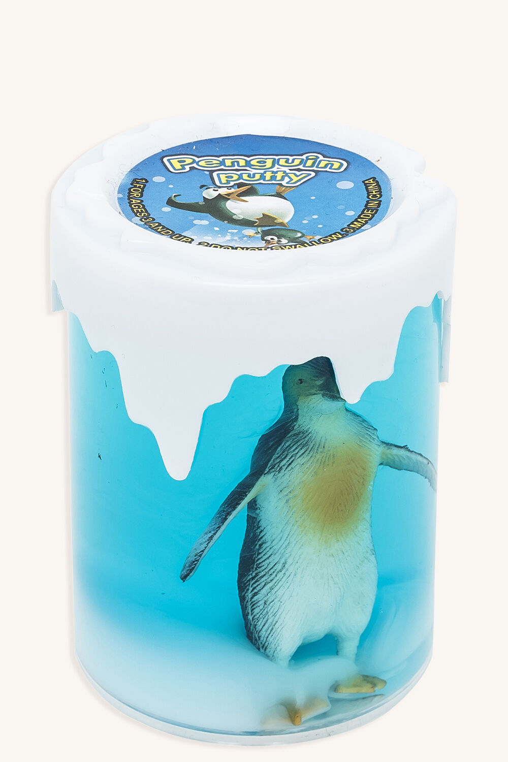 PENGUIN PUTTY in colour BRIGHT WHITE