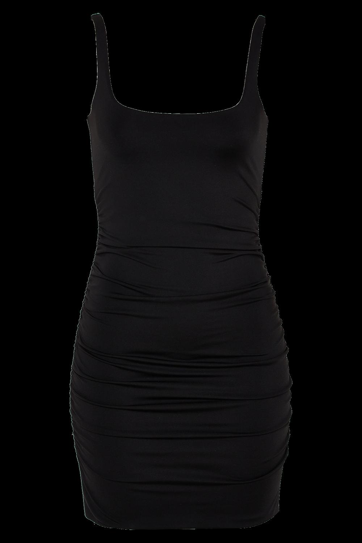 KARIN DRESS in colour CAVIAR