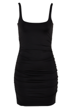 KARIN DRESS in colour CAVIAR
