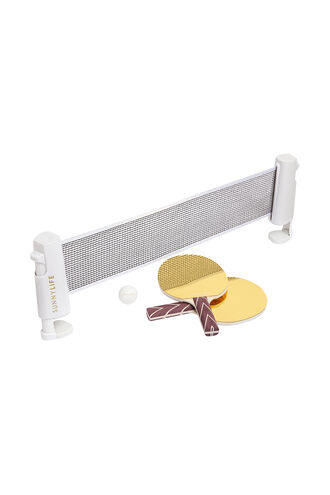 Play On Table Tennis Mirror in colour GOLD EARTH